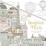 Kaisercraft CL535 Bonjour Paris Livre de coloriage Papier Multicolore 25 x 25 x 0,6 cm