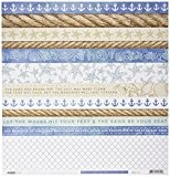 Kaisercraft Coastal Escape Double face papier cartonné 30 x 12-inch-water 10 feuilles par lot, d'autres, multicolore