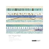 Kaisercraft Coastal Escape Papier Pad, multicolore, 16,5 cm
