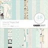 """Kaisercraft Paper Pad 12""""X12"""" 48/Pkg-Peekaboo Boy"""