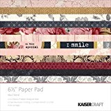 "Kaisercraft Paper Pad 6.5""X6.5"" 40/Pkg-Ma Cherie"