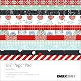 "Kaisercraft Paper Pad 6.5""X6.5""-North Pole"