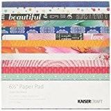 Kaisercraft Papier Pad 16,5cm x 16,5cm 40kg-chase arcs-en-ciel