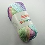 Katia bombay 2014 violeta pelote de laine gris 100 g