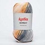 Katia Bombay-Couleur?: Gris/beige/Marrón (2030)-Laine/env. 230M 100g
