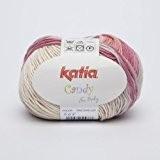 Katia Candy-Couleur?: Roses/beige (668)-50g/env. 180m coton