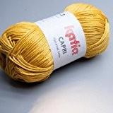Katia capri 82144 buff de laine jaune 50 g
