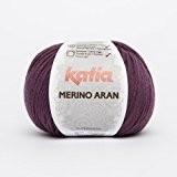 Katia en laine mérinos Aran-couleur?: Bere njena (78)-Laine/env. 155m 100g