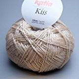 Katia kiss 064 de laine à tricoter sable 50 g