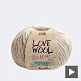 Katia love wool 116 dry rose 100 g
