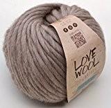 Katia love wool couleur 119 naturwolle & laine d'alpaga et laine à tricoter & crochet