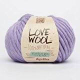 Katia Love Wool-Couleur?: Lilas (123)-Laine/env. 50m 100g