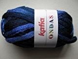 Katia Ondas laine à tricoter pour écharpe 99 Blues mix Pelote de 100 g