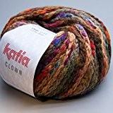 Katia - Pelote de laine CLOWN - Katia - Multicolore 201