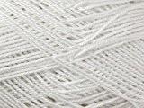 King Cole Gizeh coton fil à tricoter 4plis 2190Blanc-par balle 50g + Gratuit Minerva Crafts Craft Guide