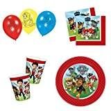 kit anniversaire pat patrouille avec ballons by shopdream