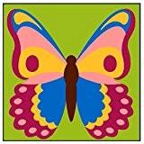 Kit Canevas Enfant gros trous Le Papillon - Ref 012