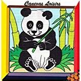 Kit Canevas Enfant gros trous Panda - Réf 250