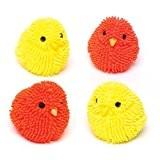 Kit de poussins clignotants à presser pour enfants - Idéal pour les pochettes-surprises spécial Pâques/printemps ou les cadeaux pour enfants ...