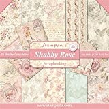 kit papier scrapbooking Shabby Rose stamperia