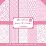 kit papier scrapbooking sweet colours rose