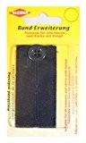 Kleiber 100% Coton rallonge ceinture pour pantalons et jupes, Bleu marine