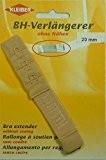 Kleiber 20 mm un Crochet Rallonge soutien-gorge , Beige/ écru