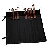 KNIT PRO 30 cm en coton Jacquard enveloppante Étui pour aiguilles à tricoter Noir/Noir