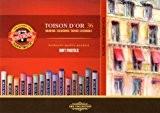 Koh-I-Noor TOISON D'OR 8515  Crayons Pastels Doux pour l'Artiste  (Pack of 36)