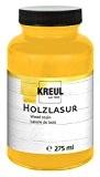 KREUL 78202-Lasure pour bois 275ml Verre, jaune