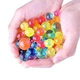 Kuuqa Perles d'Eau Cristaux d'eau Eau Cristal pour Décoration de Mariage 16 Pack 200 Perles par Paquet