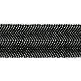 Lacet élastique 18 mm Noir x 1m