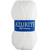 Laine AZURITE Distrifil 0501 Blanc