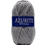 Laine AZURITE Distrifil 0579 Gris Clair