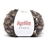Laine ETHNIC Katia 56 Cendre marron