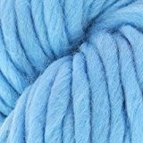 Laine Mèche XXL 330 Bleu Ciel x100g