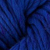 Laine Mèche XXL 398 Bleu Dur Chiné x100g