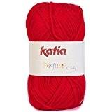 Laine PEQUES Katia 84911 Rouge
