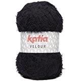 Laine VELOUR Katia 58 Noir