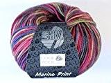 Lana Grossa Cool Wool Pelote de laine mérinos extra fine Couleur 749 multicolore 50 g