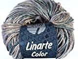 Lana Grossa Pelote à tricoter laine linarte Color 108/50g