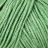 Lana grossa pelote à tricoter linarte stickerkoenig uni coton lin viscose 66 - Mintgrün