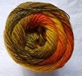 Lang Yarns Jawoll Magic Laine dégradée de laine/nylon en laiton