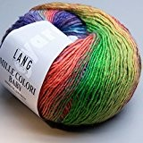 Lang Yarns Pelote de fil Multicolore 50 g