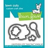 Lawn Fawn - Lawn Cuts - Year Four Dies by Lawn Fawn