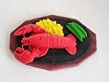 Lobster Dinner Plate Japanese Eraser. 2 Pack. By PencilThings by PencilThings