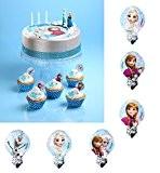 Lot 12 Pic Azyme Frozen MOD - Cupcake Gateau biscuit - ALEATOIRE - 181
