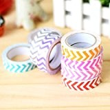 Lot de 1 ruban couleur Chiffon Stickers Deco sticker-color Assortiment pour vendre