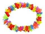 Lot de 12 colliers de fleur style hawaïen