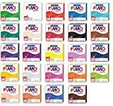 """Lot de 24 pâtes à modeler """"FIMO Soft"""""""